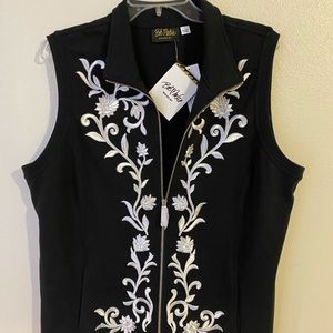 Women's Bob Mackie vest
